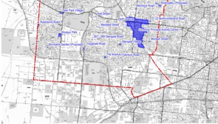Brimbank City Council, Muncipality Activity Centres